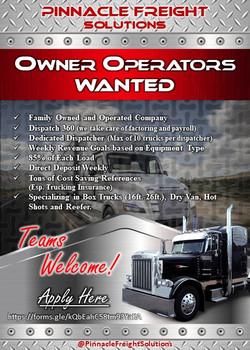 AD - Owner Operator Recruitment [4.4]