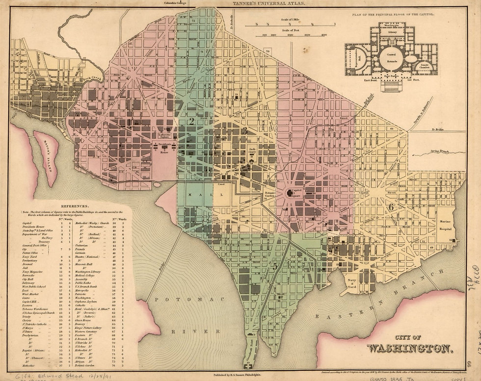 8.1 City of Washginton, Tanner, 1836 (lg