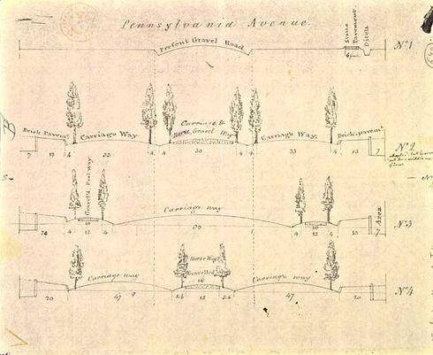 Thomas Jefferson's plans for Pennsylvani