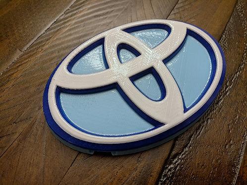 Tri-Color Toyota Scion/Corolla iM Front Emblem