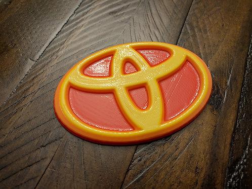 Universal Tri-Color Toyota Emblem