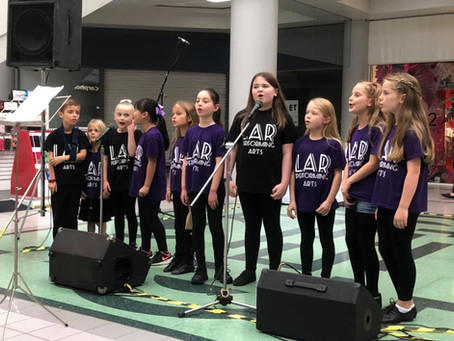 LAR Welwyn Pop Choir's debut performance for WGC Centenary at The Howard Centre