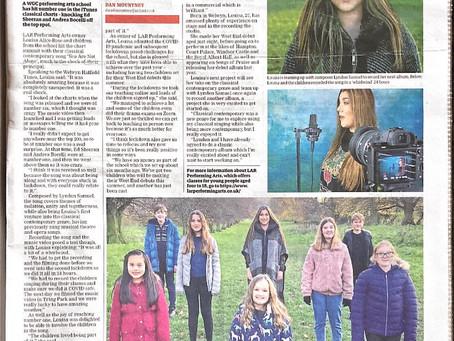 Welwyn & Hatfield Times - Front page