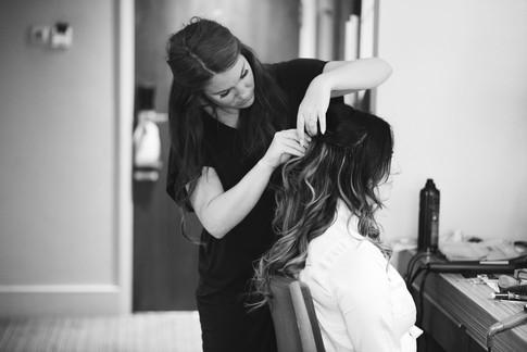 Wedding hair stylist Kent
