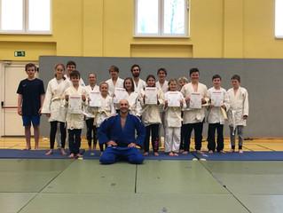 Erfolgreicher Jahresabschluss der Judo-AG
