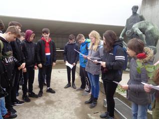 Exkursion der Klassen 8/1 und 8/3 in die Gedenkstätte Sachsenhausen