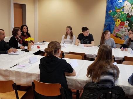 Besuch des Französischen Bildungsministeriums