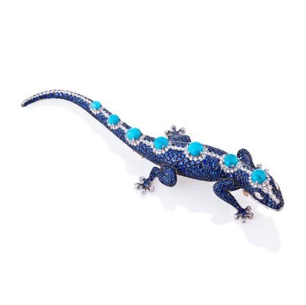 LIZARD BLUE