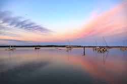 Peach Morro Bay