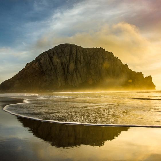Beautiful beach imagery from sunrise to sunset
