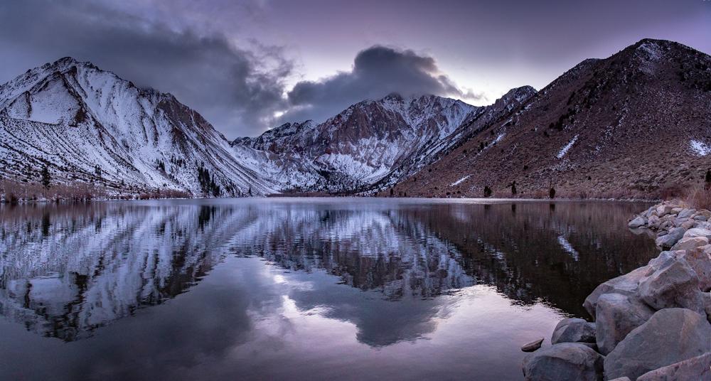 Convict Lake Purple
