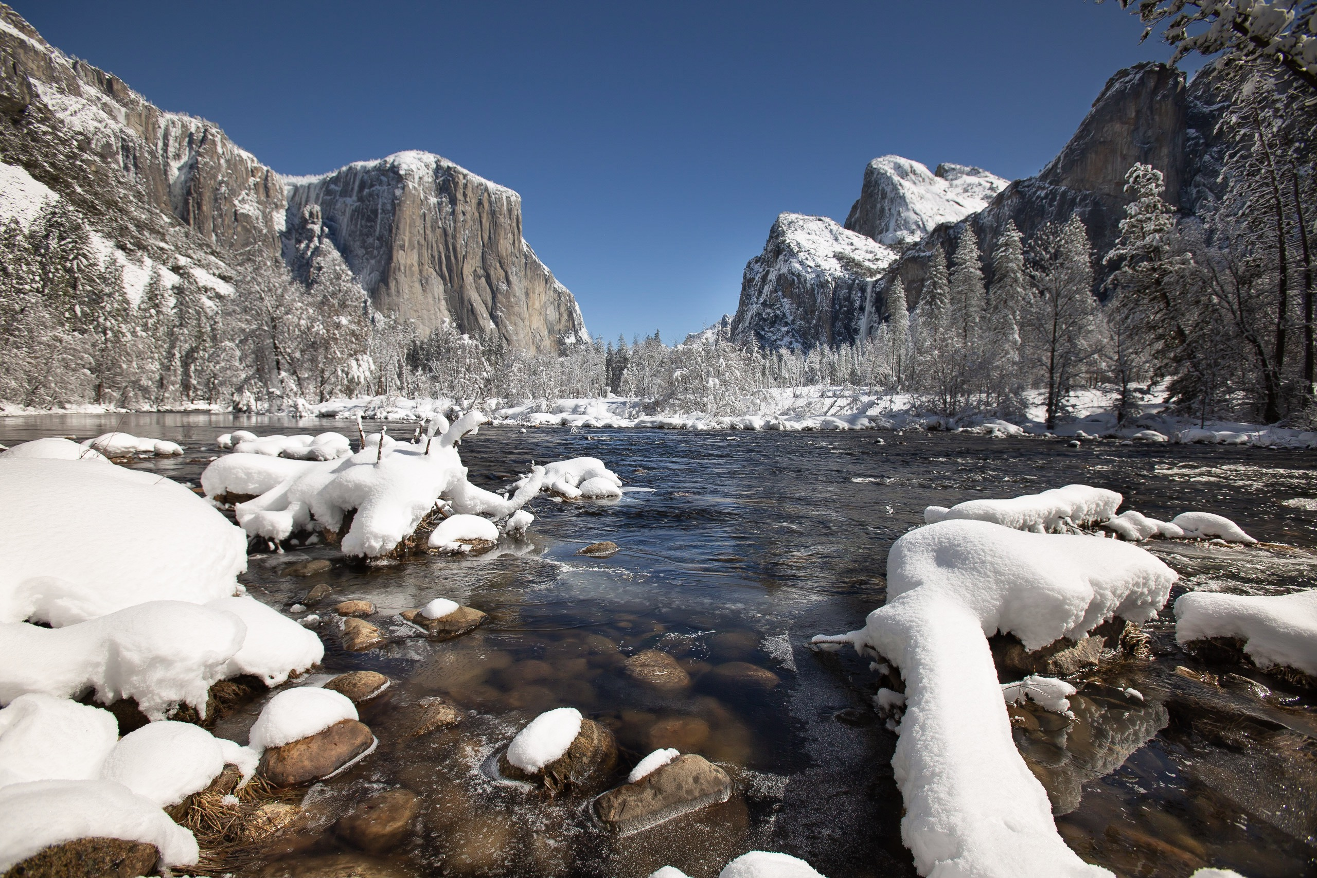 Fresh Snow El Capitan