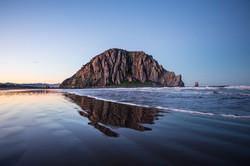 Morro Bay Blue Sunrise