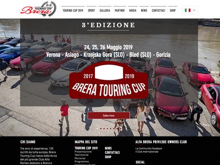 Il nuovo sito Brera Touring Cup è online
