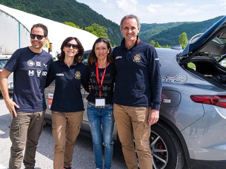Giordano Mozzi and Stefania Biacca with us
