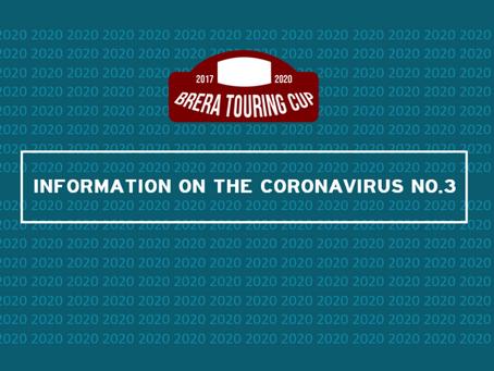 Information On The Coronavirus NO.3
