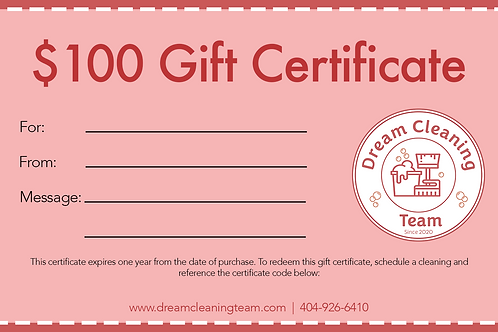 Gift Certificate ($100)