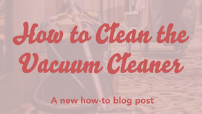 How to Clean Your Vacuum Cleaner