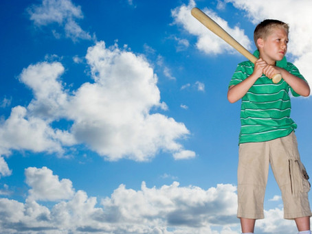 We Can All Learn from This Boy and His Bat