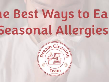 The Best Ways to Ease Seasonal Allergies