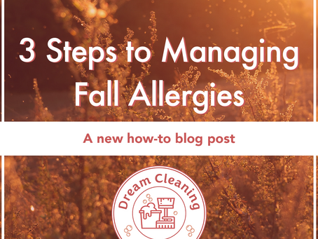 Three Steps for Managing Fall Allergies