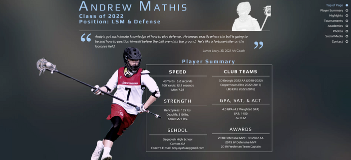 The Players Profile
