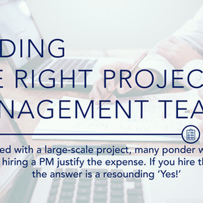Identifying the Right Project Management Team