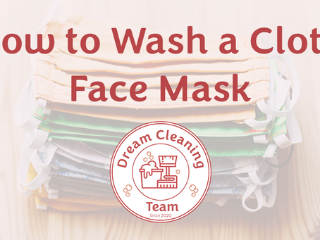 How to Wash a Cloth Face Mask