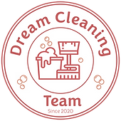 Dream Cleaning Team - Logo - Final White