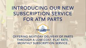 Tellerex Launches Subscription Service for ATM Parts