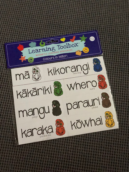 Ngā Tae aukume - Magnetic learning resources