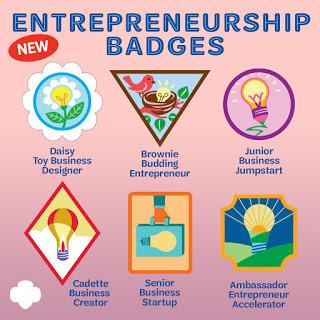 2020 Girl Scouts Entrepreneurship Badges
