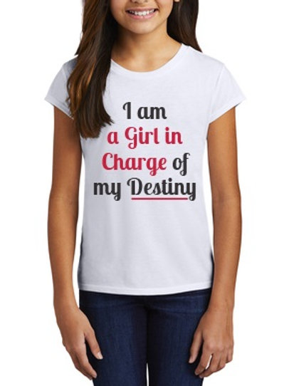 A Girl In Charge of Destiny T-Shirt