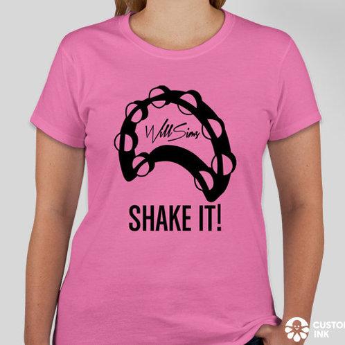 Will Sims T-Shirt - 'Shake It'