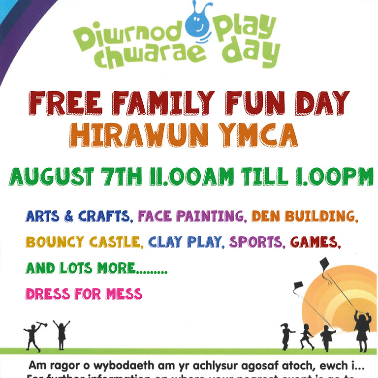 Hirwaun YMCA  Free Family Play Day