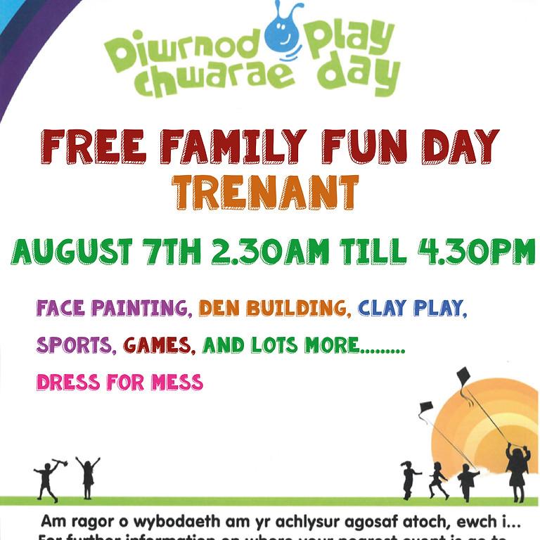 Free Family Fun Day Trenant