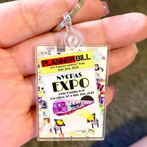 NYCPAS EXPO 2021 Keychain