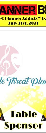 Triple Threat planner