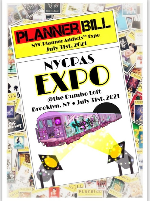 """NYCPAS Expo Die Cut Sticker 2.15 x 3"""""""
