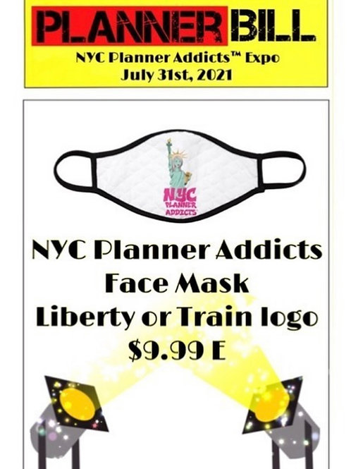 NYC Planner Addicts Liberty Face Mask