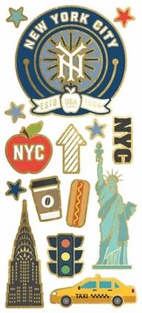 NYC Faux Enamel Sticker.webp