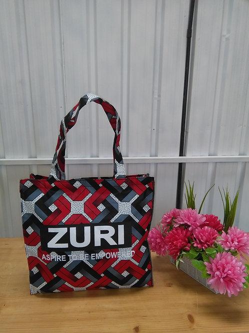 Zuri Shopping Bag (horizontal with logo)