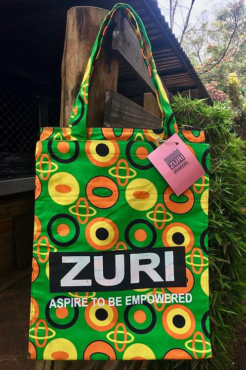 Zuri Shopping Bag with logo