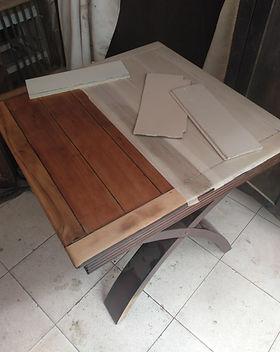 restauración de mesa de madera