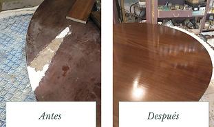 reparacion muebles madera