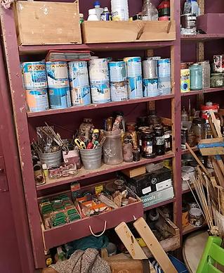 herramientas para pintar mubles
