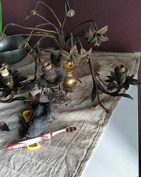 resturacion de lamparas antiguas