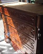 restaura cómoda madera