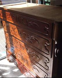 cómo restaurar comoda madera