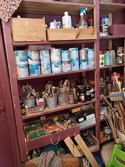 herramientas para pintar muebles de madera